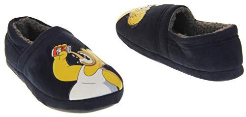 De Bleu Homer Les Fantaisie Confort Duff Générique Hommes Simpsons Pantoufles x86wdOn