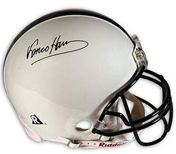 659093b6577 Franco Harris Autographed Signed Penn State Nittany Lions Full Size Riddell  NCAA Rep Helmet (black