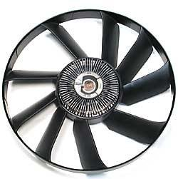 Land Rover Discovery Series 2 Cooling Fan Assembly - Includes Viscous (Viscous Coupling)