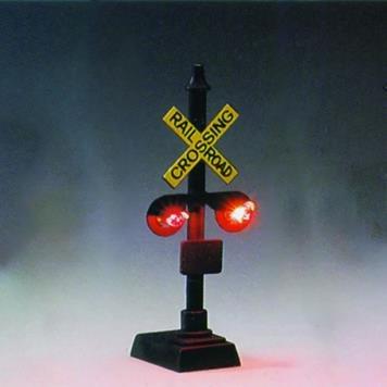 O Crossing Signal (2) (Model Railroad Crossing Signal)