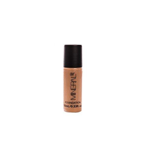 Mineral Air Mineral Foundation – Airbrush Makeup Foundation Refill – Medium Tan, 10 ml