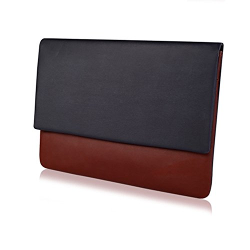 Cuero Air Marrón Macbook YiJee Funda Pro 13 6 Impermeable de 3 Pulgadas para 11 La Macbook PU Air 13 Inch Iv5q5pHnSx