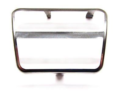 The Parts Place GM Clutch Brake Pedal Trim - Stainless The Parts Place Inc.