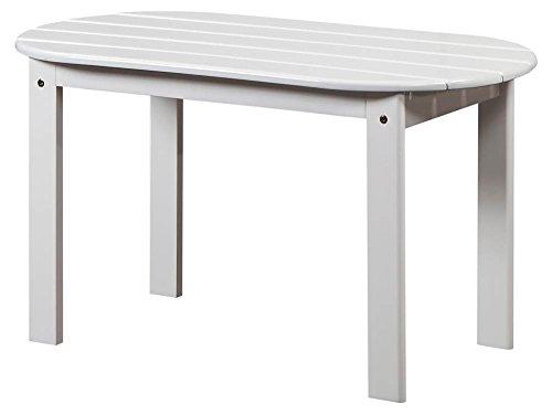 Linon Adirondack Patio Coffee Table in White