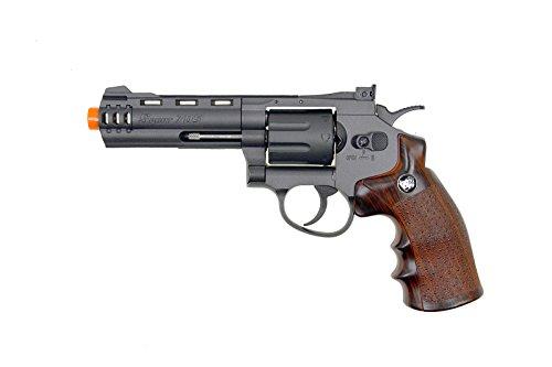 wg modelo-705 4 revólver co2 nbb con tambor giratorio de nailon y cañón (pistola de Airsoft)