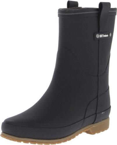 Tretorn Women's Elsa Rain Boot, Black, 39 EU/8 B US