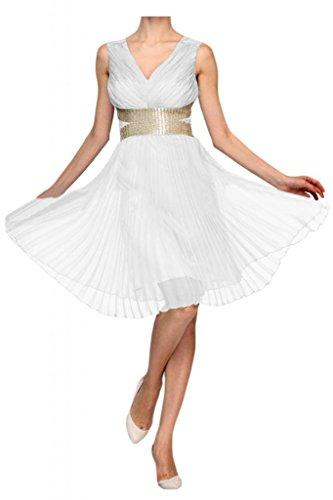 abiti Line da romantico White Sunvary festa Homecoming a per bambini abito twvHfqYX
