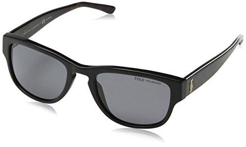 Dice Lunettes de soleil unisexe Taille unique Shiny Black/Smoke dXQSi4S68k