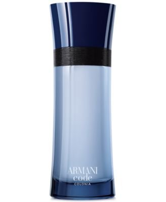 Men039;s Armani Code Colonia Eau de Toilette Spray, 6.7 oz., Created