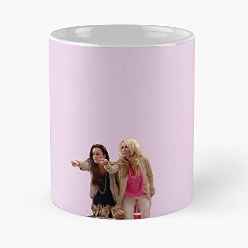 Kyle Richards Kim Brandi Glanville Rhobh Gift Coffee/tea Ceramic Mug Father Day