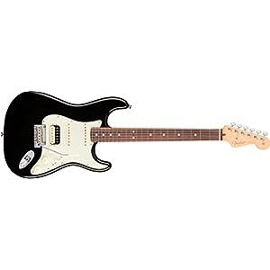 American Professional Stratocaster HSS Shawbucker RW Black