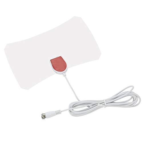 (Antena,YRD TECH Range Antenna TV Digital HD Skylink 4K Antena Digital Indoor HDTV 1080p 120 Mile (White))