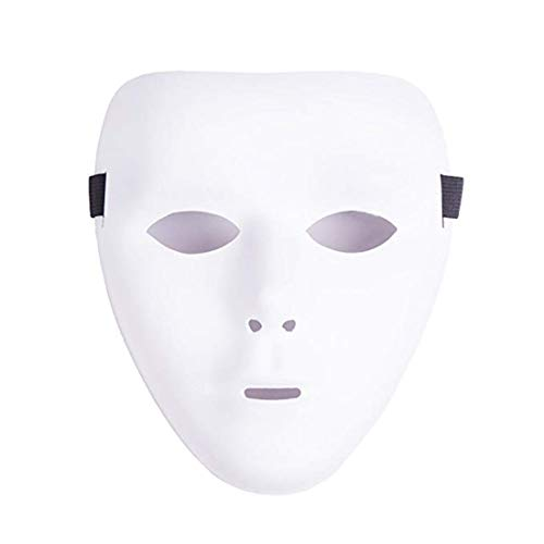 ZLLJH It 71001 White Blank Decorating Craft Full Female Mask Costome Party, 8-1/2-Inch, White ()
