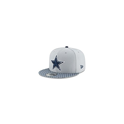New Era Dallas Cowboys NFL 2017 Sideline 9fifty Snapback Cap M L Limited Edition