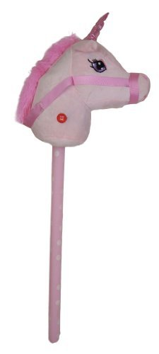 Kandy Toys 26 Inch Hobby Horse With Sound 4 Colours Available (hl63) (pink) by Kandy Toys