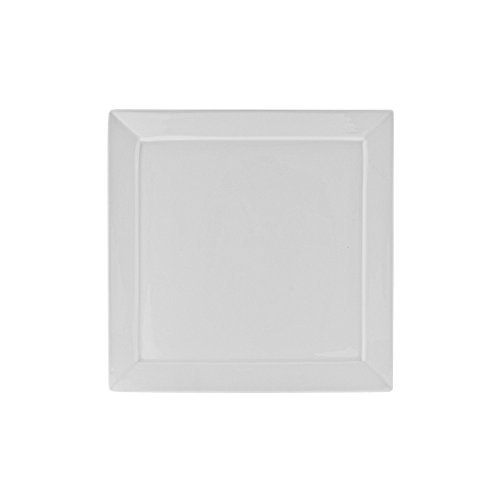10-Strawberry-Street-WEL-5SQ6-Whittier-Elite-Squares-Bread-Butter-Plate-Set-of-6-White