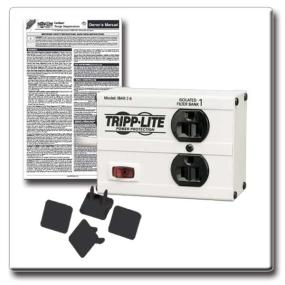 The package also includes a set of 4 outlet safety covers and the owner