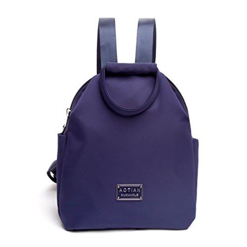 AOTIAN 4007# - Bolso mochila  para mujer rosa G-ROSE B-NAVY