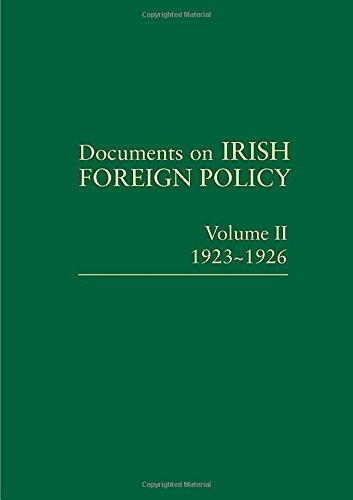 Documents on Irish Foreign Policy: Volume II, 1923-1926 pdf
