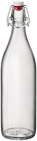 Bormioli Rocco Giara Bottle, 33.75 oz, Clear