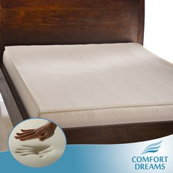 Amazon Com Comfort Dreams O 1s300 1 Inch Antimicrobial Memory