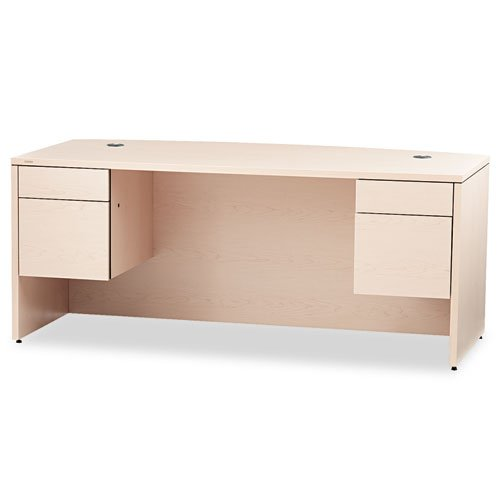 HON 10500 Series Bow Front Desk with 3/4