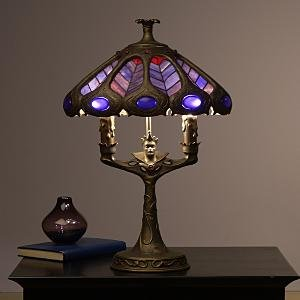 Disney Evil Queen Stained Glass Lamp Snow White Light