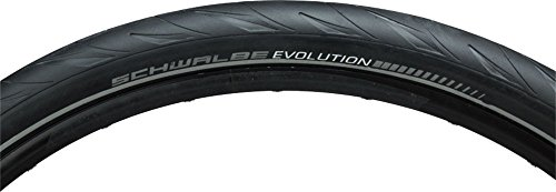 Schwalbe Marathon Supreme HS 469 HS Speed Guard Cross/Hybrid Bicycle Tire - Folding - 28 x 2.0 (Black-Reflex - 28 x 2.00) - Schwalbe Marathon Cross