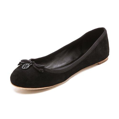 Tory Burch Miller Metallic Sandal Womens (10.5, Patent Bl...