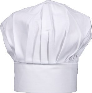 Amazon.com  CHEFSKIN Kids Chef White Hat with Adjustable Closure ... 81bc15e08bb