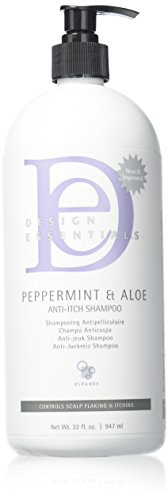 Design Essentials Peppermint & Aloe Therapeutics Anti-Itch Shampoo, 32 oz