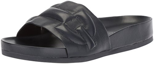 Donald J Pliner Women's Buoy Slide Sandal, Navy, 9 Medium US
