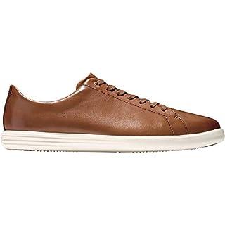 Cole Haan Men's Grand Crosscourt II Sneaker, TAN LEATHER BURNSH, US 10W