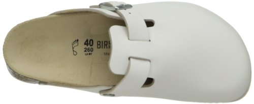 Birkenstock Unisex Professional Boston Super Grip Leather Slip Resistant Work Shoe,White,44 M EU by Birkenstock (Image #7)