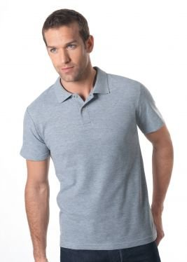 Stedman Poloshirt-Piqué 100 M,Light Blue