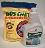 Dust Mite & Flea Control Powder Plus DustMitex, Ready-to-use Spray