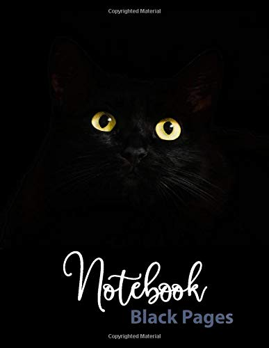 Notebook Black Pages creative journaling product image