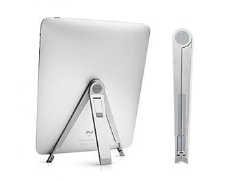 Amazon.com: Portable Travel Folding Tablet Stand Desktop Fold-up Holder for iPad Pro 9.7 - Archos 80 G9 Turbo (8) - Archos 10.1 G9 Turbo - Archos 101 G9 ...