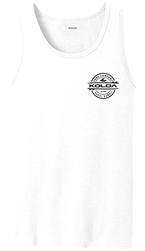 Joe's USA Koloa 2-Sided Thruster Logo Tank Tops in 27 Colors. Adult Sizes: S-4XL