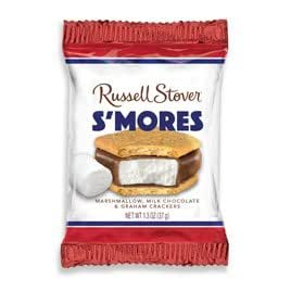 Russell stover s 39 mores 1 3 oz bar grocery for Food bar russell
