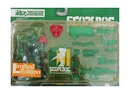Scope Dog Red Shoulder Custom JCTC limited clear green