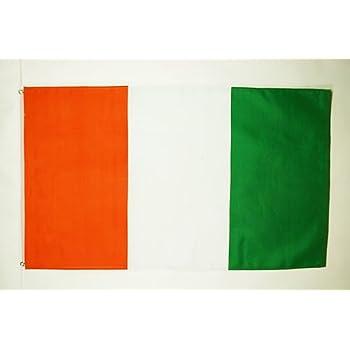 LARGE IVORY COAST FLAG 100/% polyester NEW 5 x 3 FT