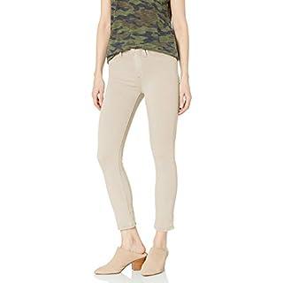 HUDSON Jeans Women's Barbara HIGH Waist Skinny Crop, Ivory, 26