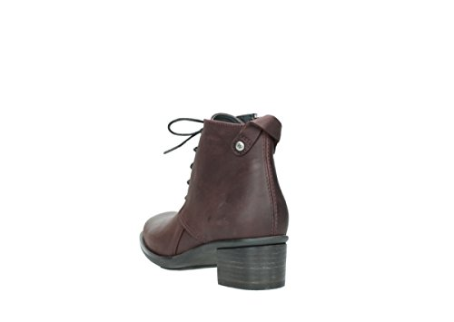 Femme Pistol Bottes Burgundy Leather Oiled Pour Wolky 0932 551 4I5wEq77x