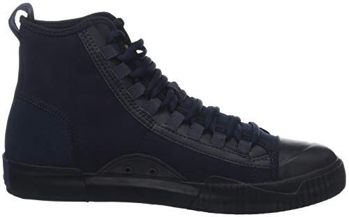 Sneaker G A Saru Raw 6486 Collo dk Blue Alto star Rackam Scuba Mid Uomo Blu npYprXwqg1