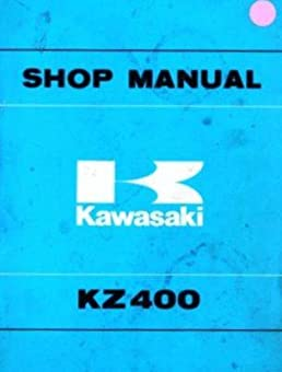 kawasaki shop manual kz400 kz400d 1974 1977 kz400s 1975 1977 rh amazon com kawasaki kz 400 service manual kawasaki kz400 manual pdf