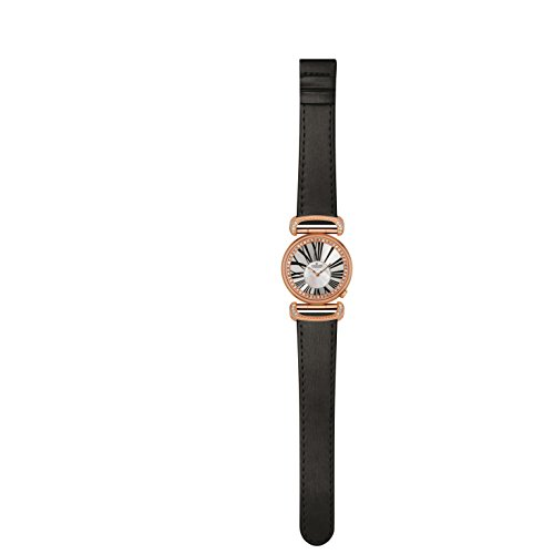Charmex Malibu 6276 32mm Stainless Steel Case Black Calfskin Synthetic Sapphire Women's Watch