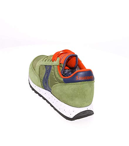 e Verde in Sneakers Nylon Camoscio Saucony Jazz Sqwx6I0nC
