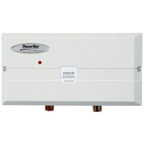 Powerstar ae 9 5 electric tankless under sink water heater for 5 bathroom tankless water heater