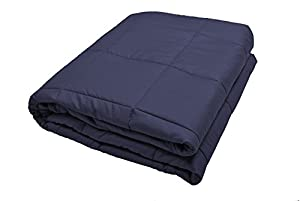 Weighted Blanket by Zonli, Weighted Sensory Blanket for adults, Cotton,48X78'' 20LBS, Stress and Anxiety Relief, Helps Calm AAD, ADHD, Autism